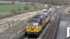 56090 & 56113 0E32 Lindsey - Barnetby at Brocklesby Jct 26/03/19 (Mr Corbett's stuff) Tags: 56090 56113 grid colas 6e32 6m32 0e32 brocklesby junction diesel loco