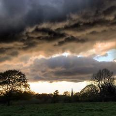 Apocalypse Now - Richmond Park (Flamenco Sun) Tags: richmond storm london clouds park sunset