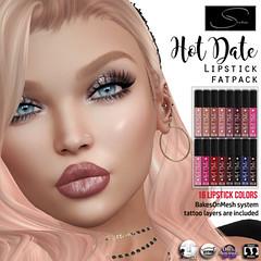 Stellar Hot Date Lipstick (Lexi★Morgan) Tags: stellar leximorgan lipstick catwa omega lelutka bakesonmesh makeup makeupappliers appliers lipstickapplier lipapplier meshhead avatar secondlife