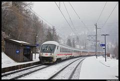 DB Fernverkehr, Tenneck 03-02-2018 (Henk Zwoferink) Tags: dbfernverkehr intercity henkzwoferink tenneck wimmsalzburgaustriaat