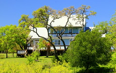 Ranch House (austexican718) Tags: centraltexas hillcountry ranch house trees foliage architecture sky canon eos70d ef70300mm456isusm
