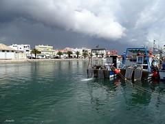 Stormy day ! (Armelle85) Tags: extérieur nature paysage eau port bateaux ciel mer océan algarve ville portugal