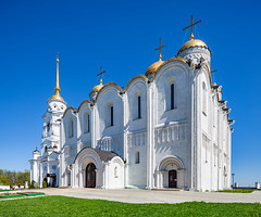 Uspensky Cathedral (Vladimir, Russia) (KonstEv) Tags: church cathedral orthodox russia vladimir building architecture dome cross