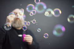 104/365 - blowing bubbles