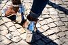 Silver Slippers _7894 (hkoons) Tags: belémdistrict belemdistrict highheels iberianpeninsula belem belém capital city europe heels lisbon portugal clodhoppers covering fashion feet female feminine foot ladies lady shoe shoes stiletto stilettos village walk walking woman women