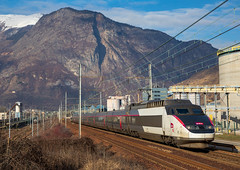 TGV PSE en Maurienne, et en 2019 ! (Maxime Espinoza) Tags: train tgv sncf pse carmilllon paris sud est lille modane chambéry st jean de maurienne rame 23 se