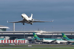 G-CRNS Dassault Falcon 7X - TAG Aviation UK (eigjb) Tags: gcrns falcon 7x dassault fa7x bizjet jet executive business dublin airport international collinstown eidw transport aircraft airplane aeroplane tag aviation