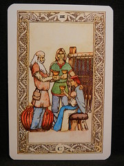 Three of Cups. (Oxford77) Tags: tarot thenorsetarot norse viking vikings cards card tarotcards