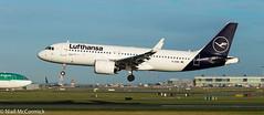 D-AINO Lufthansa Airbus A320-271N (Niall McCormick) Tags: dublin airport eidw aircraft airliner dub aviaton daino lufthansa airbus a320271n neo
