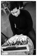 Jürg Frey - Electronics And Loudspeaker Pieces @ Cafe Oto, London, 27th January 2019 (fabiolug) Tags: johnmacedo jürgfrey jurgfrey wandelweiser electronics electronic composer compositions cafeoto london dalston music gig performance concert live livemusic leicammonochrom mmonochrom monochrom leicamonochrom leica leicam rangefinder blackandwhite blackwhite bw monochrome biancoenero voigtlandernoktonclassic35mmf14 voigtlandernokton35mmf14 voigtlander35mmf14 35mm voigtlander