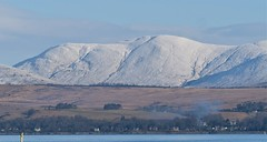 Cove - Feb 2019 (GOR44Photographic@Gmail.com) Tags: cove river clyde argyll scotland cowal dunoon snow water white winter hills mountains houses smoke shadows sunlight trees rosneathpeninsula gor44 panasonic g9 100300mmf456mk2