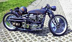 Harley Davidson  Panhead (olds.wolfram) Tags: motorrad motorcycles moto motorcycle motobike harleydavidson harley panhead pan street racer