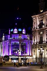 Paris_BHV_20190213_071 (giesen.torsten) Tags: paris nikon îledefrance iledefrance france frankreich nightshot nikonafs85mmf14 bhv bazardehôteldeville