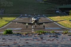 N526TW (andras mihalik) Tags: sbh tffj st bart saint barthelemy leeward island caribbean baie de jean trade wind aviation pilatus pc12 glamour pentax