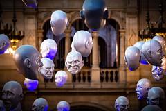 Making Faces (darrenjcampbell) Tags: sculpture art europe unitedkingdom greatbritain scotland glasgow museum artgallery kelvingrove faces