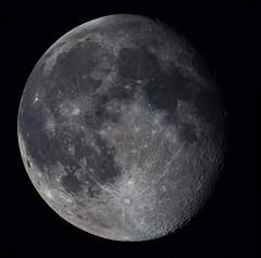 Waning Gibbous Moon - 21.02.2019 (ZBOYDMARK) Tags: astrobackyard lunar luna craters astrophotography astronomy moon