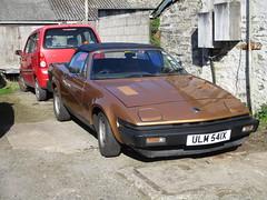 One Owner 1981 Triumph TR7 (occama) Tags: ulm541x 1981 triumph tr7 brown bronze old british sports car cornwall uk sun sunny
