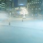 Poudrerie en ville/Blowing snow downtown/Blåsande snö i centrum thumbnail