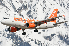 G-EZBX (toptag) Tags: airbusa319111 gezbx inn lowi innsbruck easyjet aviation tirol austria winter snow mountain