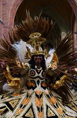 Landshut - Carnival Dancer (cnmark) Tags: germany deutschland bavaria bayern landshut altstadt carnival parade karneval fasching karnevalsumzug faschingsumzug tänzerin dancer colourful colorful people costume kostüm ©allrightsreserved