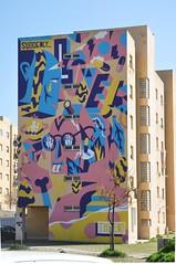 Lisboa - street art (Bairro Padre Cruz) (jaime.silva) Tags: lisboa lisbon lisbonne lissabon lisszabon lisbona lisabona lisabon lissaboni lissabonin lisabonos lisabonas lizbon lizbona lizbonska portugal portugalia portugalsko portugália portugalija portugali portugale portugalsk portugalska portogallo portúgal portugāle painting paint streetart streetartist muralpainting mural graffiti graf spray spraypaint spraypainting urban urbanart arteurbana akacorleone