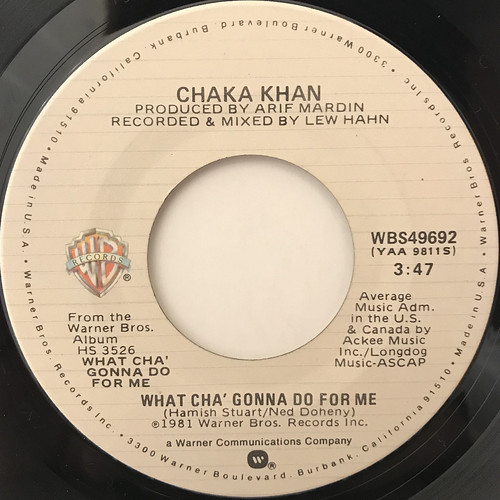 Chaka Khan fan photo