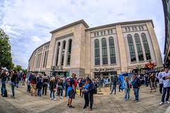 Play Ball! (JMS2) Tags: yankeestadium baseball sports pastime architecture ballpark bronx fisheye