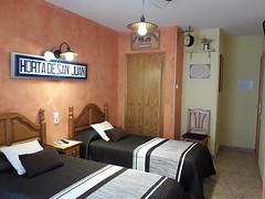 Habitación Doble Exterior Ac (brujulea) Tags: brujulea hoteles hostales horta sant joan tarragona casa barcelo habitacion doble exterior