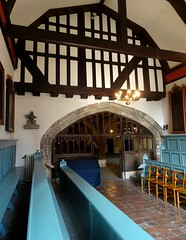 [73638] York : Merchant Adventurers' Hall Chapel - Looking West (Budby) Tags: york northyorkshire hall guild gild chapel church