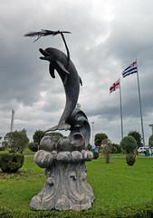 Batumi (LeelooDallas) Tags: asia europe georgia batumi city black sea landscape art sculpture dana iwachow dragoman overland silk road trip october 2018