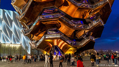 Manhattan, NY: The Vessel at Hudson Yards (nabobswims) Tags: hudonyards ilce6000 lightroom luminositymasks manhattan mirrorless ny nabob nabobswims newyork photoshop sel18105g sonya6000 thevessel us unitedstates nightfoto night