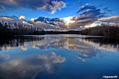 Spiegelung (garzer06) Tags: wolken spiegelung himmel deutschland kleinstubben wasser wolkenhimmel baum landschaft naturephoto inselrügen vorpommernrügen landschaftsbild mecklenburgvorpommern landschaftsfoto naturfotografie landscapephotography naturephotography landschaftsfotografie