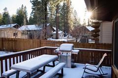 CFL-20181130-0100-W (Chi Fung Leung) Tags: bigbear cabin snow trees