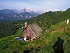 Below Rozca saddle (Vid Pogacnik) Tags: slovenia slovenija outdoors hiking landscape mountain karavanke karawanken karawanks rožca hut panorama