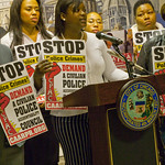 Traci Johnson for the 24th Ward City of Chicago Aldermanic Candidates Press Conference to Support Civilian Police Accountability Council Chicago Illinois 1-9-19 5562 thumbnail