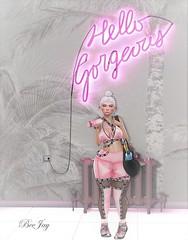 Pretty In Pink (Ð ȭ я ʞ / ʙᴇᴇᴊᴀʏ) Tags: fmd mug epiphany pink zenith foxy madisen beejay dorkisme dork gym blog blogger secondlife mesh kustom9