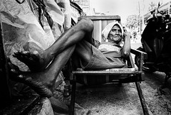 Chaise Lounge - Manila, Philippines (LA Street Moments) Tags: philippines asia manila poor bw
