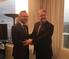 O Αναπληρωτής Υπουργός Εξωτερικών, Γ. Κατρούγκαλος συναντήθηκε με τον Γερμανό Υφυπουργό Εξωτερικών αρμόδιο για Ευρωπαϊκές Υποθέσεις, Michael Roth (ΥΠΕΞ, 07.02.2019) (Υπουργείο Εξωτερικών) Tags: κατρουγκαλοσ ανυπεξ αθηνα roth germany athens ministryofforeignaffairs