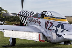 North American TF-51D Mustang - 02 (NickJ 1972) Tags: shuttleworth collection oldwarden race day airshow 2018 aviation northamerican p51 tf51 mustang gtfsi 4414251 wzi 4484847 contrarymary