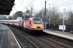 43307 at Morpeth (stephen.lewins (1,000 000 UP !)) Tags: 125 hst ecml morpeth railways northumberland lner class43 43307