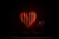 Michael Buble's ❤ Edge Lit Heart by Craig Small @ Toronto Light Festival 2019 (A Great Capture) Tags: michael bubles edge lit heart craig small toronto light festival 2019 red mbloveto agreatcapture agc wwwagreatcapturecom adjm ash2276 ashleylduffus ald mobilejay jamesmitchell on ontario canada canadian photographer northamerica torontoexplore winter l'hiver night dark nighttime cold snow weather eos digital dslr lens canon 70d sigma 1750mm outdoor outdoors outside vibrant colorful cheerful vivid bright architecture architektur arquitectura design streetphotography streetscape photography streetphoto street calle darkness nocturnal illuminate lighting torontolightfestival tolightfest historicdistillerydistrict distillerydistrict lightfest lights theartoflight