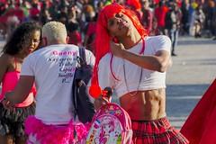 Carnaval des Antilles Montpellier (Marc ALMECIJA) Tags: carnaval sony rx10m3 fête fest manifestation rouge montpellier hérault street rue déguisement costume red