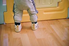 DSCF1055 (Brian HCH) Tags: xt1 fujifilm brianhuang 小黃金 寶寶 寶貝兒子 baby dd golden 鞋子 亞瑟士 asics suku2 first