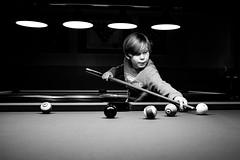 (andersåkerblom) Tags: noire dark sport blackandwhite bw bnw pooltable billiards