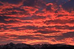 Fiery dawn over Belledonne (yom1) Tags: dawn aube fiery feu fire ciel sky nuage red rouge clouds cloud canon montagne matin morning abstract absstrait europe europa france frenchalps rhonealpes auvergnerhonealpes winter isère grenoble belledonne eos6dmkii 6dmarkii 6dmkii ef2470f4lisusm ef2470 weather levant