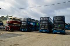 Unilink Yard Eastleigh (PD3.) Tags: go ahead goahead group gsc south coast eastleigh hampshire england uk bus buses psv pcv barton park hants dorset bluestar