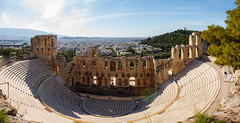 Ωδείο Ηρώδου του Αττικού - Odeon of Herodes Atticus or Herodion (VickyK.) Tags: herodion acropolis athens odeon ancientgreece greece hellas ελλάδα ηρώδειο αθηνα αρχαία πανοραμική pano panoramic canon eos7d