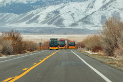 Keep Your Eyes On The Road! Gold Coast Tours. (RS2Photography) Tags: 2019 goldcoasttours highway395 bus us395 canon flickr mono monocounty driving snow bridgeport california easternsierra sierranevada