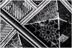 Union Station Ceiling (Envisage Photography LTD) Tags: abstract unionstation ceiling geometric blackwhite