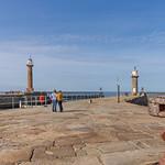Whitby lighthouses. thumbnail